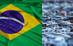 Brazilia a depăşit Germania şi devine a patra piaţă auto din lume