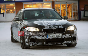 FOTO EXCLUSIV*: BMW M5 se pregăteşte de lansare