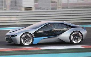 BMW Vision EfficientDynamics surprins în teste