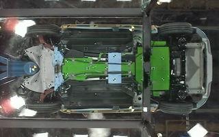 VIDEO: Cum se comportă un model electric la crash-test?