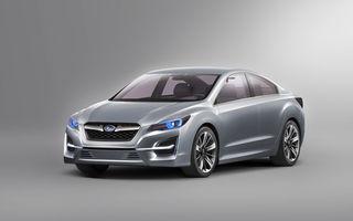 Impreza Design Concept va inspira look-ul viitoarelor modele Subaru