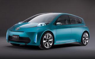 OFICIAL: Toyota Prius C, un concept pentru mezinul gamei hibride