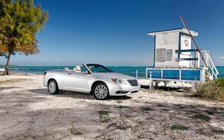 GALERIE FOTO: Chrysler 200 Cabrio, model aşteptat şi în gama Lancia