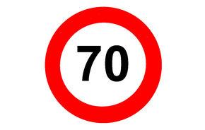 OFICIAL: Limita de viteză legală a crescut la 70 km/h în 88 de localităţi din România