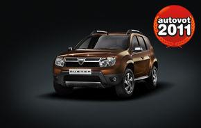 VOI AŢI DECIS: Dacia Duster este maşina AUTOVOT 2011!