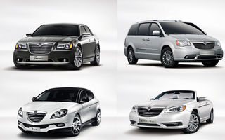 Lancia Thema, Flavia, Delta facelift şi Grand Voyager - primele imagini