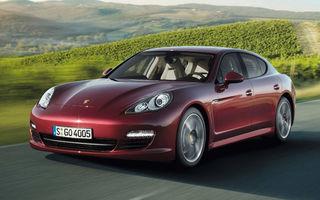 Porsche pregăteşte o versiune cu ampatament mărit a lui Panamera