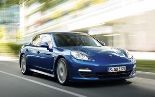 OFICIAL: Porsche Panamera S Hybrid vine la Geneva