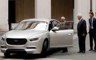 Primele imagini ale conceptului De Tomaso SLC