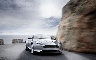Aston Martin Virage vine la Geneva