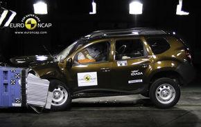 OFICIAL: Dacia Duster a obţinut trei stele EuroNCAP