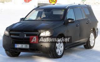FOTO EXCLUSIV* : Mercedes testează noul GL