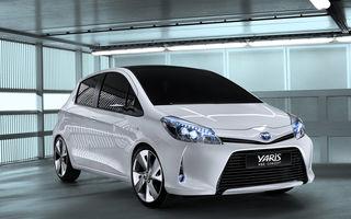 Toyota Yaris Hybrid a debutat la Geneva în versiunea concept
