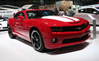GENEVA LIVE: Standul Chevrolet, pregătit de aniversarea centenarului