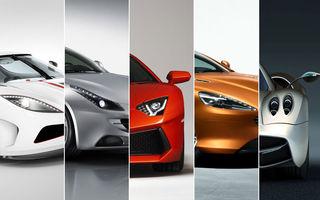 GENEVA 2011: Top 5 supercaruri şi maşini sport