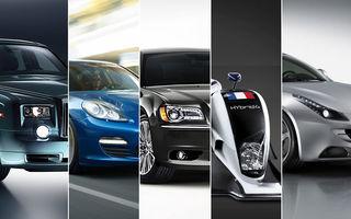 """GENEVA 2011: Top 5 """"ciudăţenii"""" de la Salonul Auto"""