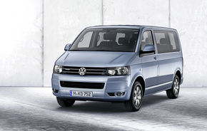 Volkswagen Multivan BlueMotion consumă 6.4 litri/100 km