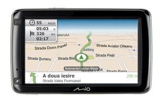 Mio: În România, sistemele de navigaţie şi GPS-urile integrate se vor lupta abia peste câţiva ani