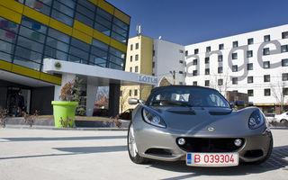 Cinci minute cu Lotus Elise în Bucureşti
