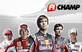 A început F1 Champ 2011! Câştigă o experienţă unică în paddock la Spa!