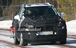 FOTO EXCLUSIV* : Imagini noi cu SUV-ul mic bazat pe Chevrolet Aveo