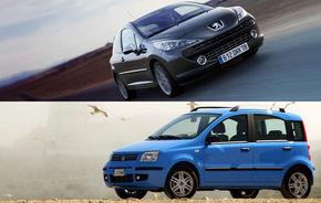 Surpriză? Cele mai fiabile modele europene: Peugeot 207 şi Fiat Panda
