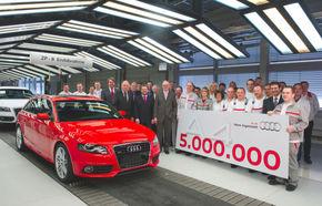 Audi a produs cinci milioane de exemplare A4 la Ingolstadt