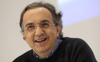 """Marchionne: """"Ceea ce ar fi făcut VW cu Alfa Romeo poate face şi Fiat"""""""
