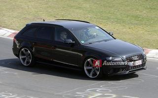 FOTO EXCLUSIV* : Audi pregăteşte noul RS4