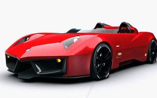 Primele imagini ale lui Spada Codatronca Monza, supercar de 690 CP