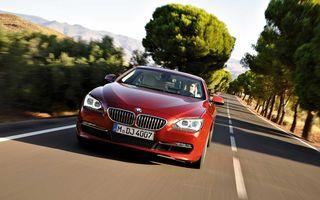 BMW Seria 6 Coupe diesel va fi disponibil încă de la lansare