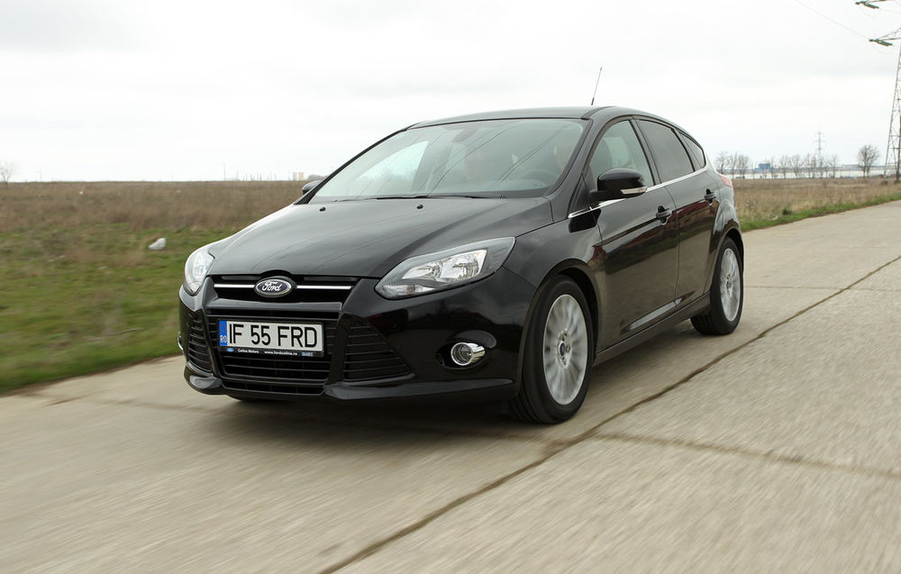 Test drive Ford Focus (2011-2014)