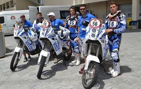 Mani Gyenes, pe podium la  Abu Dhabi Desert Challenge