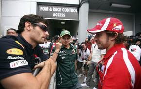 Webber şi Alonso, trădaţi de noile tehnologii din 2011