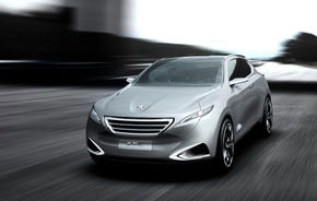 SHANGHAI 2011: Peugeot SxC Concept - 313 CP şi 5.8 litri la sută