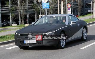 FOTO EXCLUSIV* : Primele imagini cu noul Mercedes-Benz SL