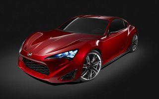 OFICIAL: Toyota a prezentat conceptul Scion FR-S la New York