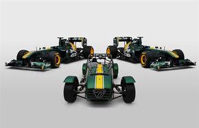 Caterham Seven, ediţie aniversară pentru Team Lotus