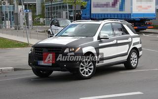 FOTO EXCLUSIV* : Primele imagini ale lui Mercedes ML echipat cu pachetul AMG
