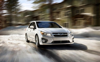 Subaru aşteaptă vânzări mai mari cu 50% pentru noul Impreza
