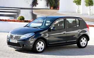 GERMANIA: Dacia Sandero, locul al 7-lea în topul fiabilităţii ADAC în clasa mică