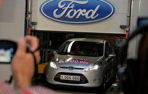 Ford a produs 1.000.000 unităţi Fiesta la Koln