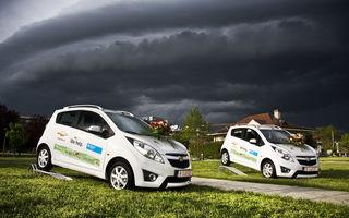 Chevrolet a donat două Spark-uri organizaţiei SOS Satele Copiilor din Bucureşti