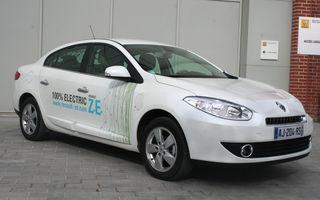 Renault va concura într-o competiţie de vehicule electrice cu Fluence Z.E.