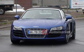 FOTO EXCLUSIV* : Audi testează noul R8 GT Spyder