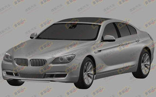 BMW Seria 6 Gran Coupe, viitorul rival al lui Mercedes CLS