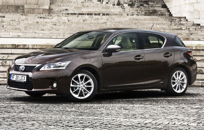 Test drive Lexus CT 200h (2014-2017)
