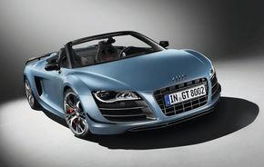OFICIAL: Audi a prezentat noul R8 GT Spyder