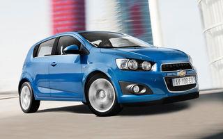 Chevrolet a dezvăluit detaliile complete ale noului Aveo