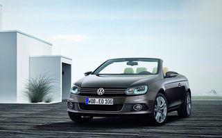 Volkswagen Eos facelift pleacă de la 25.969 de euro cu TVA inclus în România